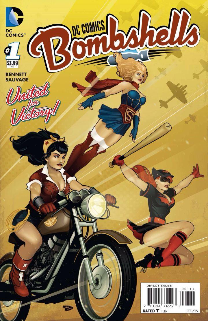 DC Bombshells #1
