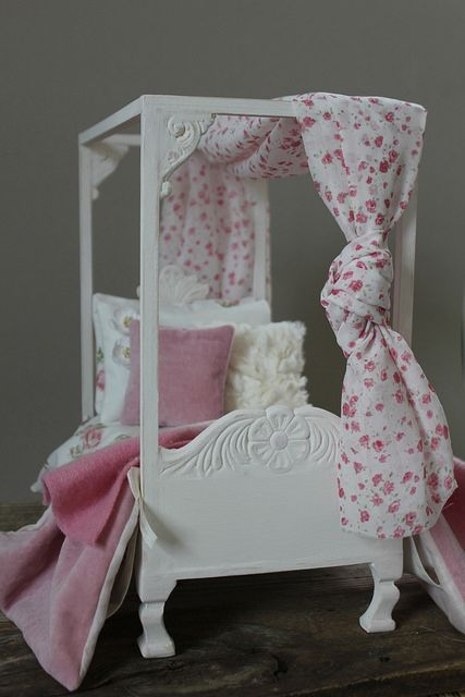 Custom Canopy Bed by Abi Monroe | Flickr - Photo Sharing!