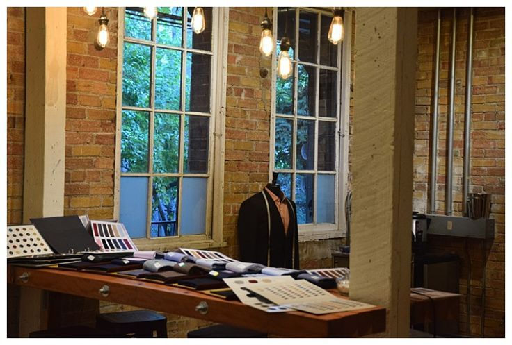 Inside of the Tailor Cooperative, a custom suit shop in Salt Lake City Utah | Distinguishing Features of a Custom Suit