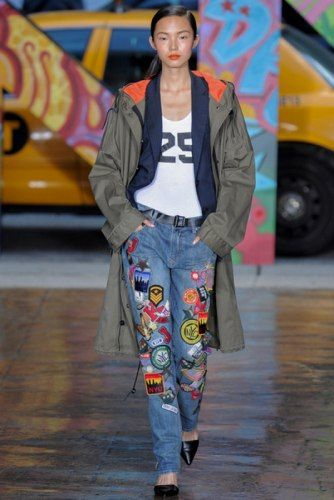 Новый тренд: джинсы в стиле пэчворк  http://www.woman.ru/fashion/trends/article/100737/#fr=sn  Вы бы примерили такие?