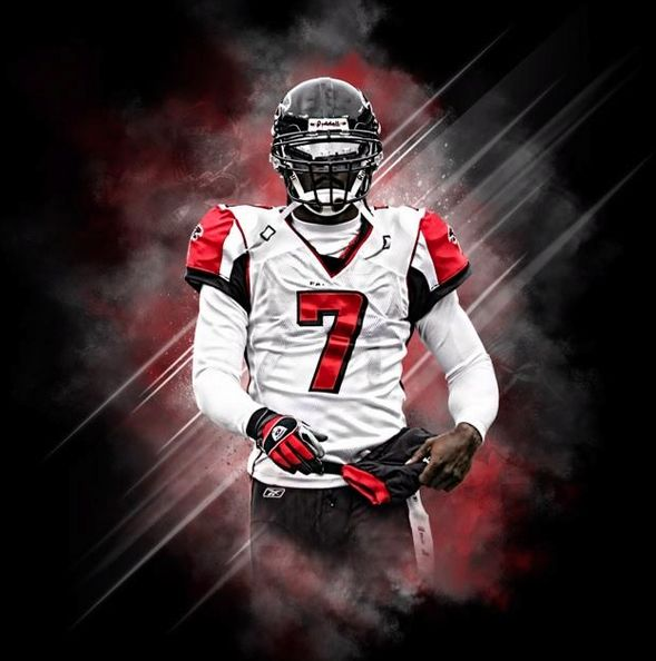 michael vick edit | News: Mike Vick changed his Twitter profile photo to him in a Falcons ...