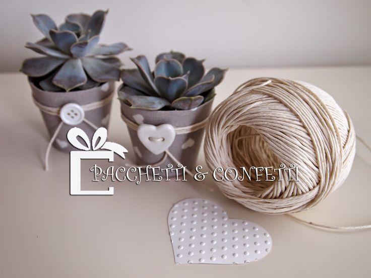 Vasetti+shabby+chic+con+pianta+grassa+-+bomboniere+nozze+by+PACCHETTI+&+CONFETTI.jpg 1.600×1.200 pixel