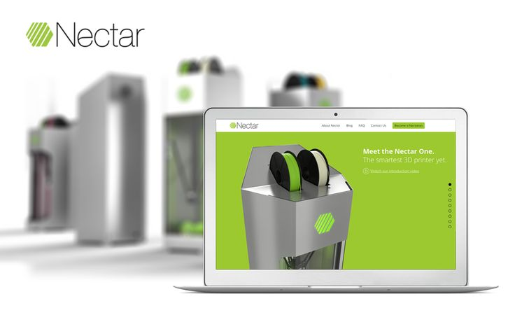 Meet the Nectar One. The smartest 3D printer yet. http://www.nectar3d.com