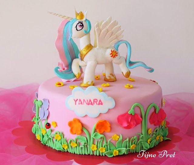Fijne Pret: Princess Celestia cake