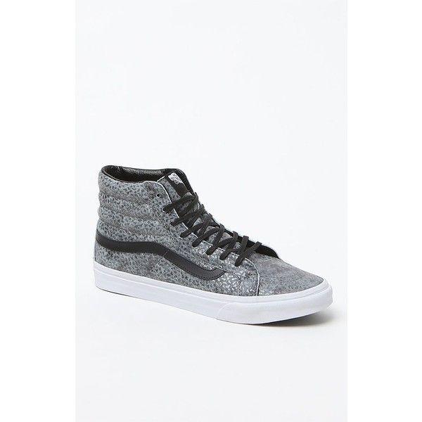 Vans SK8-Hi Slim Zip High-Top Sneakers ($58) ❤ liked on