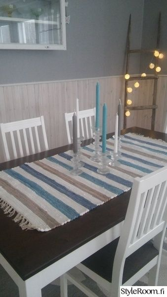 Iittala, Festive, obývacia izba, handra koberček, modrá