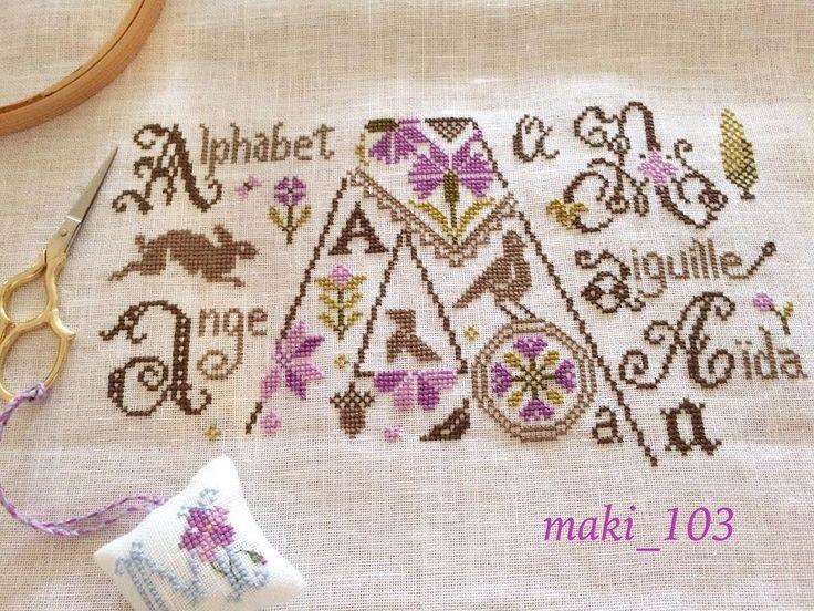 秋の夜長にいかが♡クロスステッチ刺繍にチャレンジ♪ | Handful
