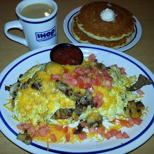Big Steak Omelette at IHOP