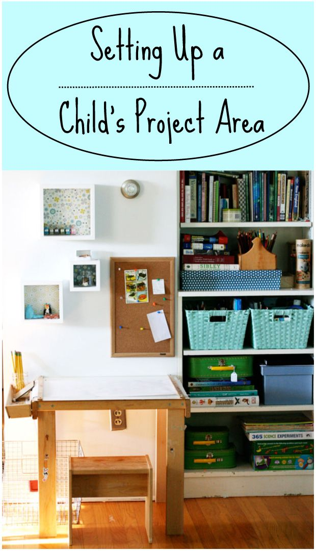Setting Up a Child's Project Area