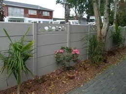 concrete fence panels - Google Search