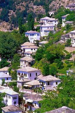 Village Makrynitsa, Pélion Grèce
