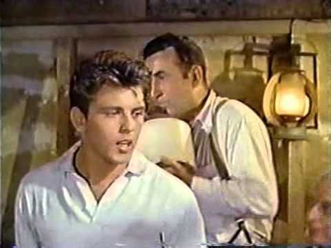 "Clip from ""Hound Dog Man""  (1959)     Fabian + Dodie Stevens, barn dance scene"
