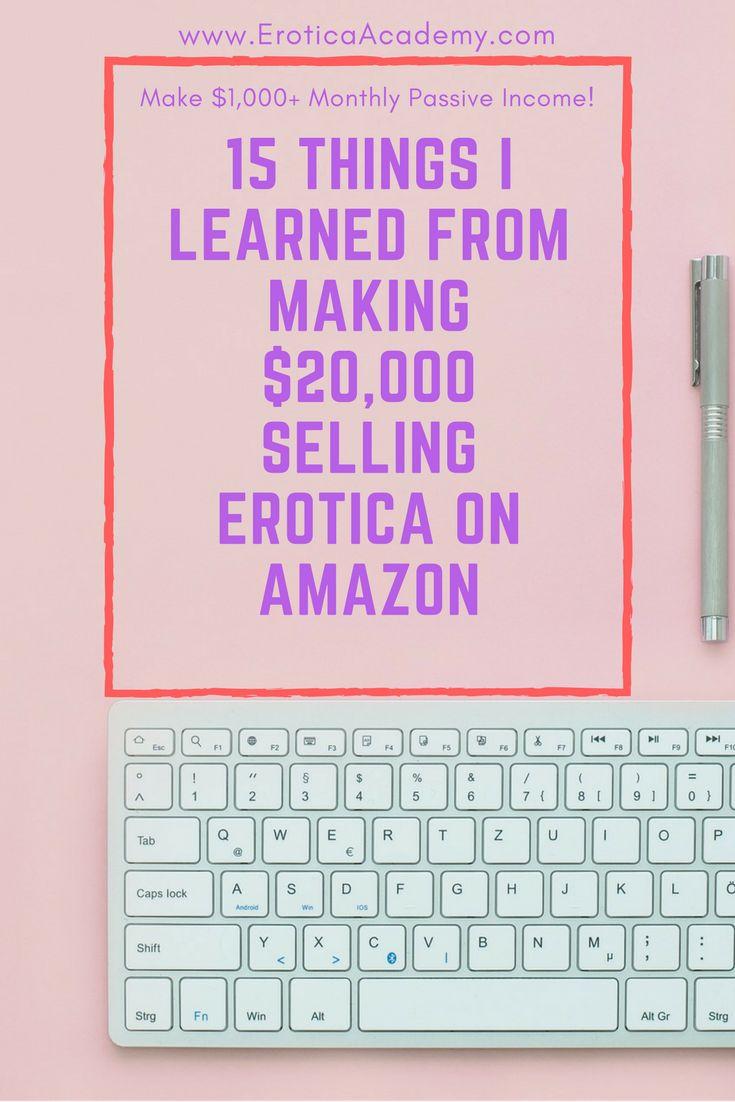 Publishing erotic short stories