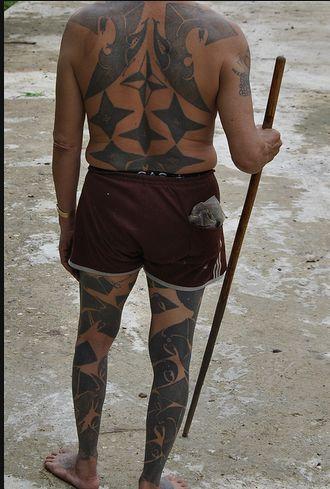 Borneo Tattoo Design