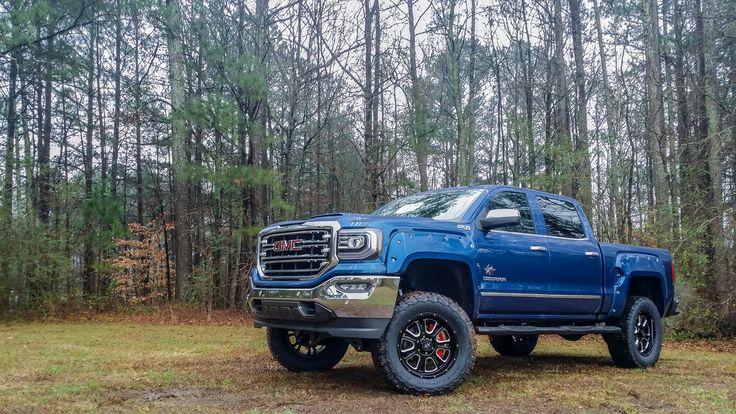 SCA GMC Black Widow - Stone Blue   Trucks, Gmc trucks