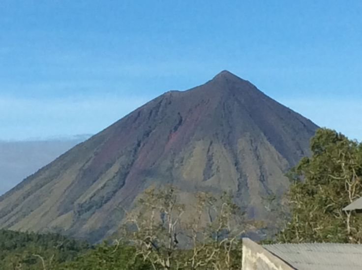 Volcano at Flores