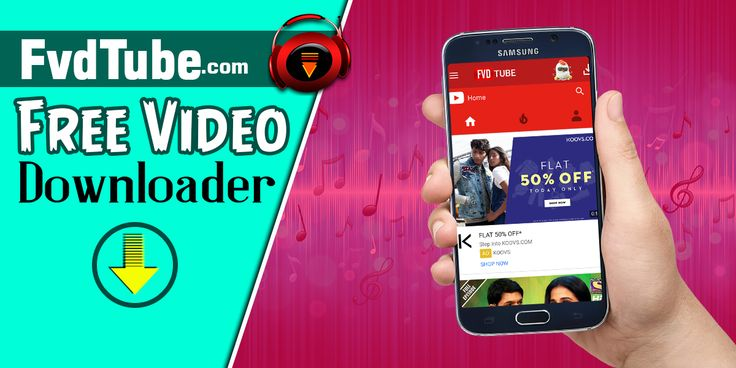 Not only the YouTube videos you download on your smartphone but you can download videos in very high quality. Moreover, once you download a video it is then saved on your device's SD card which you can play anytime. So, enjoy this YouTube downloader for Android and make FvdTube your favorite app.