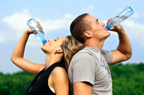 You're thirsty. What should you do? Reach for something to drink. Thirst is ...
