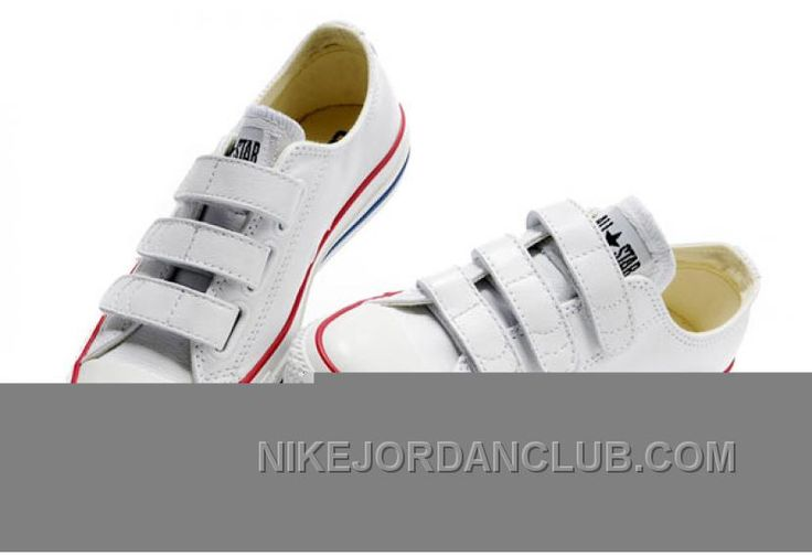 http://www.nikejordanclub.com/white-converse-all-star-chuck-taylor-3-strap-velcro-leather-sneaker-cheap-to-buy-nh4dw.html WHITE CONVERSE ALL STAR CHUCK TAYLOR 3 STRAP VELCRO LEATHER SNEAKER CHEAP TO BUY NH4DW Only $62.68 , Free Shipping!