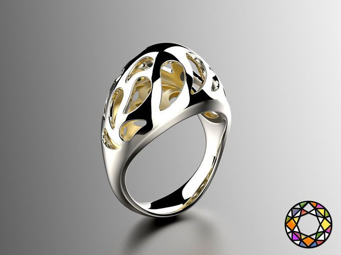 Easter eggs collection ring sets 6-7 hollow 0140