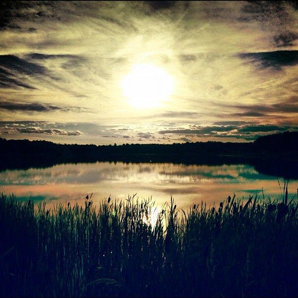 Rouyn-Noranda sunset.  Photo by Melissa Hetu