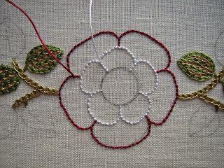 Threads Across the Web: Tudor Rose - Part 2