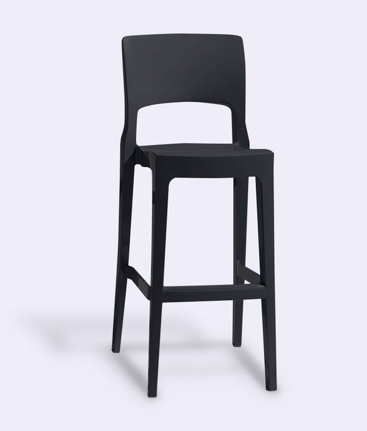 ISY Bar Stool in Anthracite by Impaczone