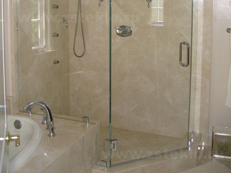 Душевая кабина с распашной дверью   Душевая кабина с распашной дверью отлично подойдет по дизайну, как для больших так и для маленьких ванных комнат. Они практичнее, благодаря классическим петлям, которые имеют свои преимущества перед роликами раздвижных створок. Распашные двери душевых кабин бывают одностворчатые (для маленьких кабинок) либо двустворчатые (для больших моделей). Открываться такие двери могут даже внутрь, однако распахивающиеся наружу более распространены. Выбирая дверь…