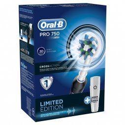 Oral-B Crossaction Pro 750 3D (Negro+Funda)