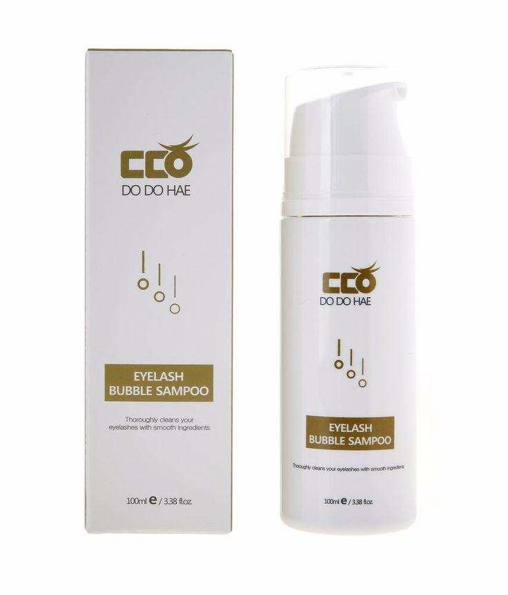 DODOHAE Eyelash Bubble Shampoo Effectively removes make-up #Dodohae