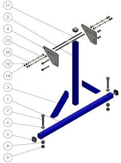 A frame jig assembly tutorial for a hardtail or softtail chopper chassis.