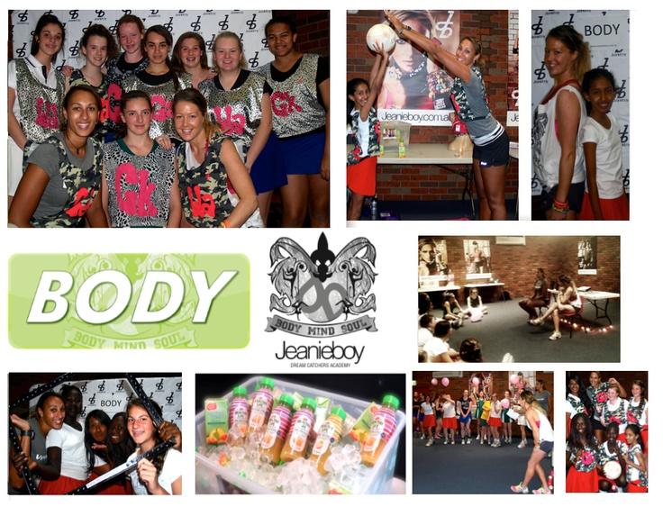DANDENONG & DISTRICT NETBALL ASSOCIATION -HEALTHY LIFE JEANIEBOY Dream Catchers Netball Academy #BODY