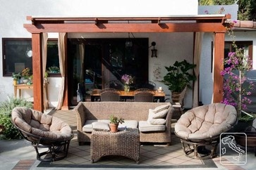Outdoor Gazebo - mediterranean - patio - los angeles - Serrao Cabinets & Design