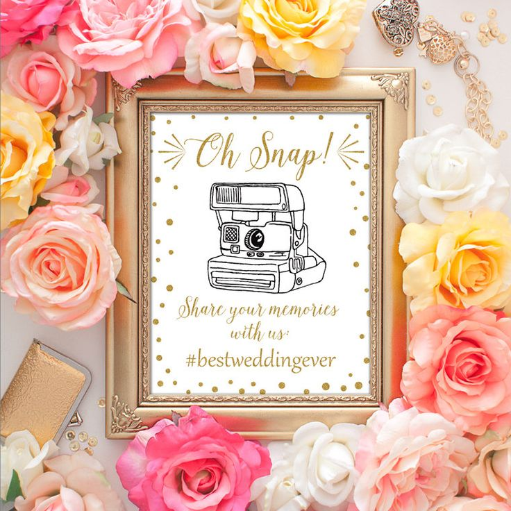 50% OFF SALE - Wedding Hashtag Sign 8x10 Hashtag Wedding Sign, Gold Sign, Wedding Hashtag Printable Art, Wedding Photography, If You Hashtag by DreamBigPrintables on Etsy https://www.etsy.com/listing/241373696/50-off-sale-wedding-hashtag-sign-8x10