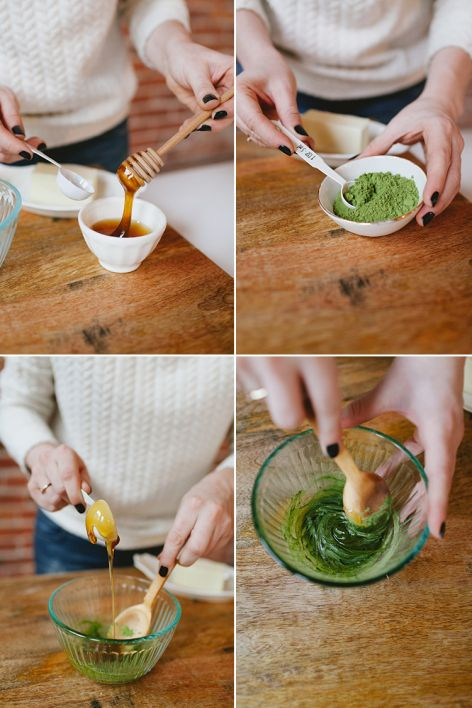 DIY salty honey-matcha butter is one of my favorite recipes from The Year of Cozy! find out more on jojotastic.com