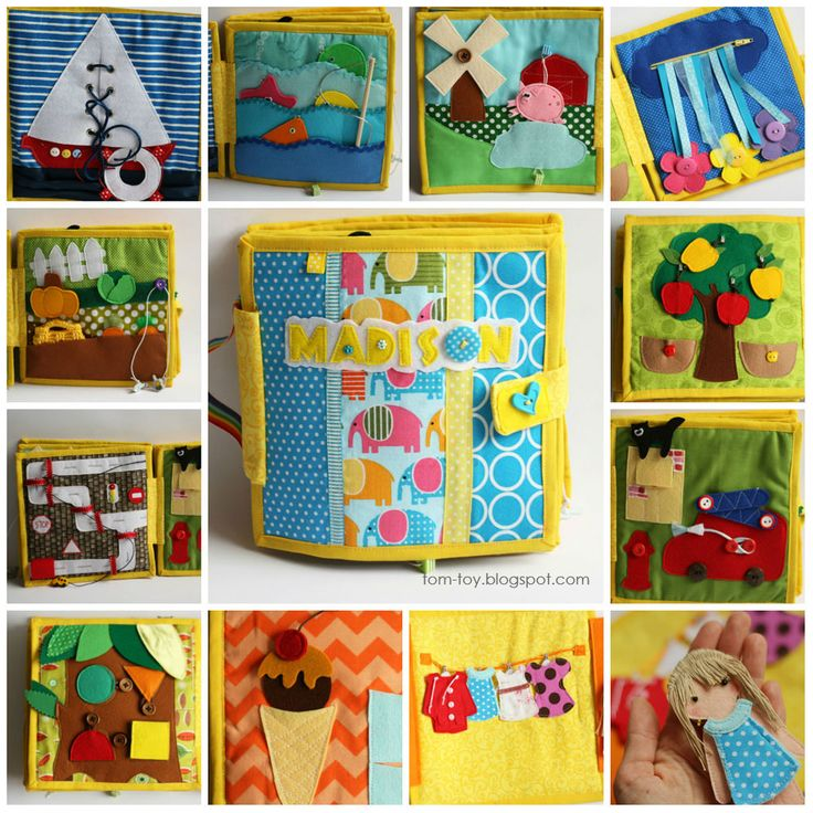 Children S Fabric Book Cover : Best images about quiet book drobnosti motivky on