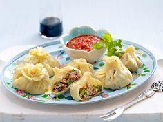 Russische Rezepte - von Blini bis Zupfkuchen - sibirische-fleischtaschen  Rezept