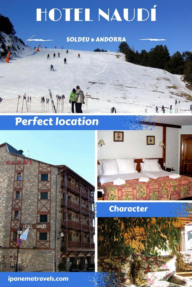 Review of Hotel Naudi in Soldeu, Andorra. Perfect location and absolutely charming. #hotelreview #hotelnaudi #andorra #SkiDestinations