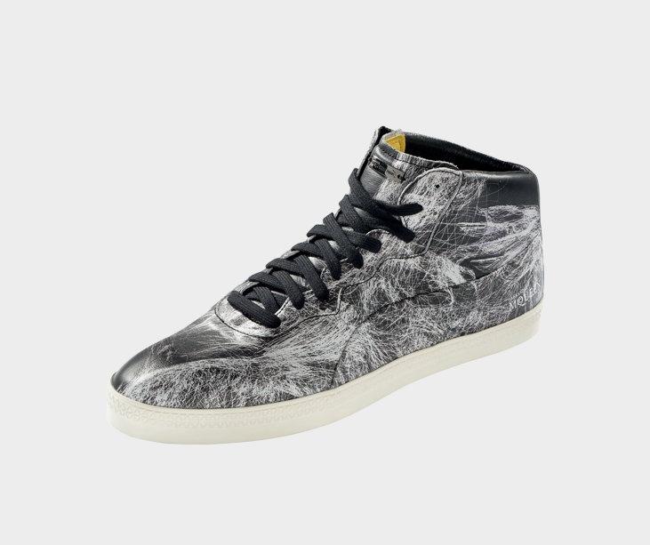 AMQ Dextral Mid Shoe - Unisex Black label Footwear - PUMA