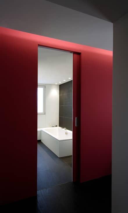 21 best Badezimmer images on Pinterest Bathroom, Half bathrooms - vorhänge für badezimmer