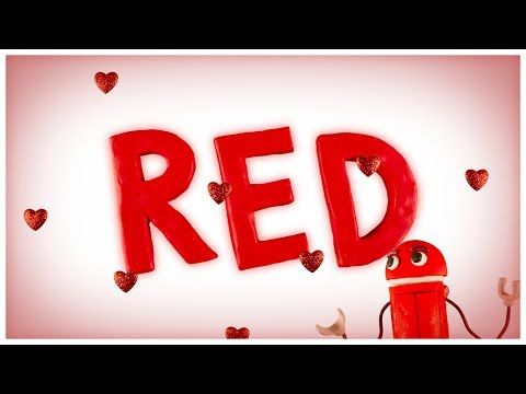 """Love is Red,"" Songs About Colors by StoryBots - YouTube"