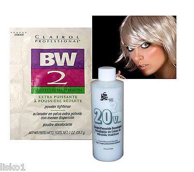 hair bleach clairol bw2 bleach powder hair lightener w