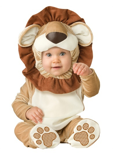 Intant Baby Lovable Lion Outfit Cub Animal Halloween Costume