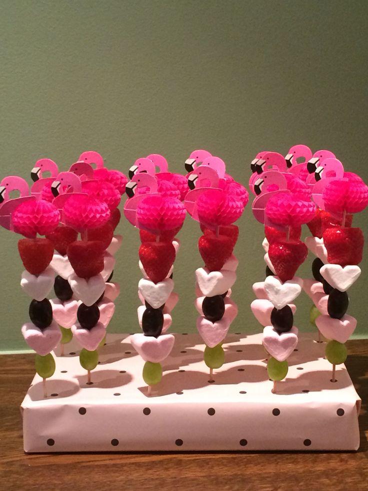 Flamingo traktatie (Flamingo-prikker Flying Tiger)