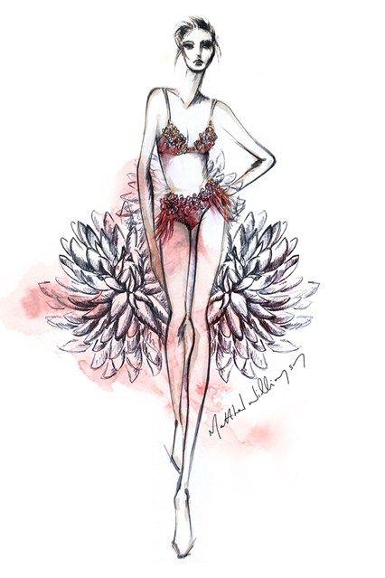 Matthew Williamson kollaboriert für die London Fashion Week Herbst/Winter 2013 mit Triumph und kreiert extravagante Stücke für die Dessousmarke.