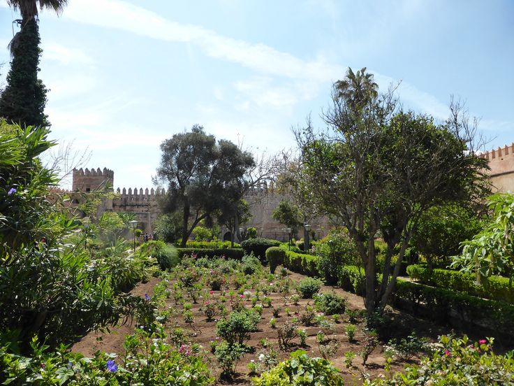 Kasbah of the Udayas, Andalusian gardens, Rabat