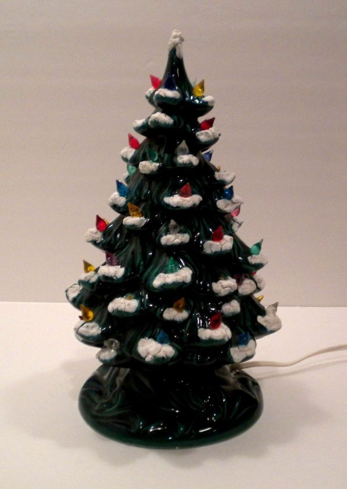 Ebay Ceramic Christmas Trees