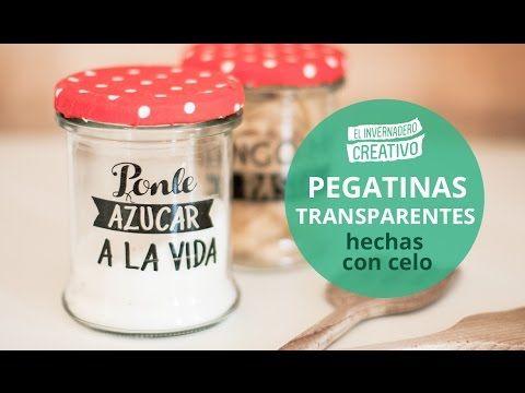 Tutorial: Pegatinas transparentes DIY | Manualidades