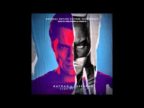 """A preview of the track """"Men Are Still Good (The Batman Suite) by Hans Zimmer and Junkie XL from Batman v Superman: Dawn of Justice."""