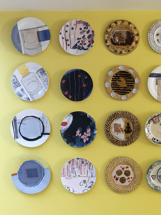 Colourful plates - Kit Kemp